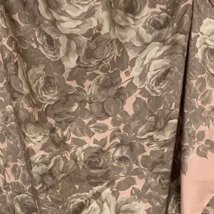 Brooks Brothers silk square rose pink scarf 34x34